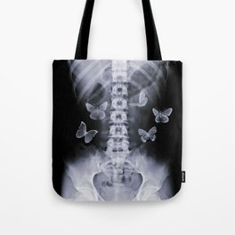 X-Ray Conceptual Butterflies  Tote Bag