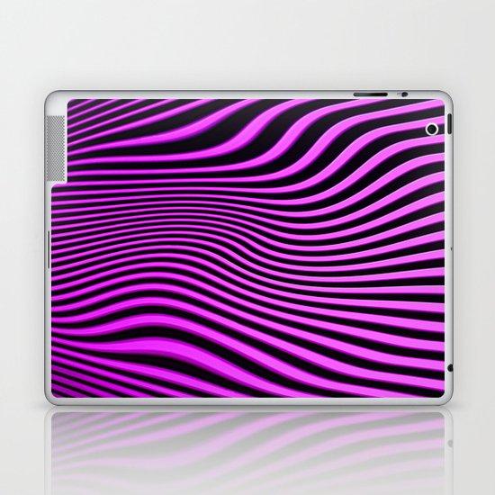 Stripes in Pink Laptop & iPad Skin