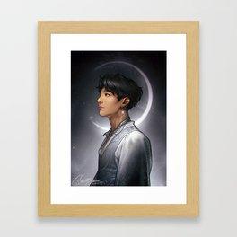 Lunar Jungkook Framed Art Print