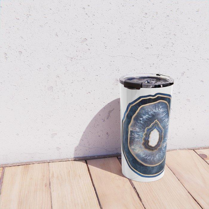 Agate - Blue Travel Mug
