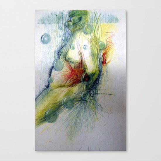 Klooster Series: Male Nude Arie Canvas Print