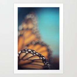 On the edge of Flying Art Print