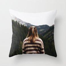 Eyes Forward Throw Pillow
