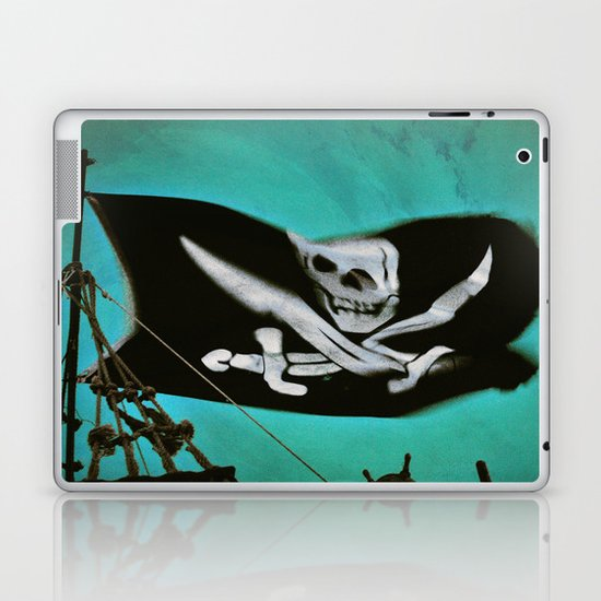 """Pirate Ship"" Laptop & iPad Skin"