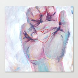 Just Right Canvas Print