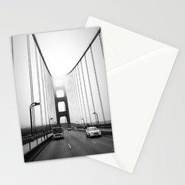 Golden Gate Bridge Black and White Stationery Cards