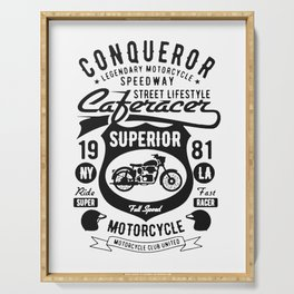 conqueror speedway street lifestyle Serving Tray