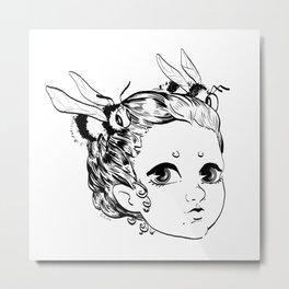 bumble girl Metal Print