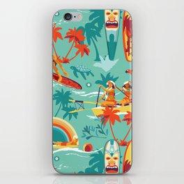 Hawaiian resort iPhone Skin