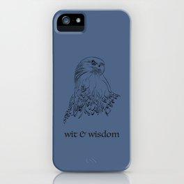 wit & wisdom (Hogwarts houses) iPhone Case