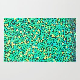 Graphic Green Rug