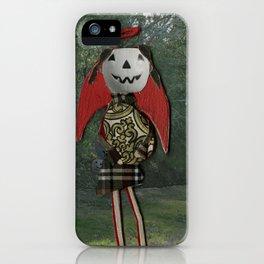 pumpkin girl iPhone Case
