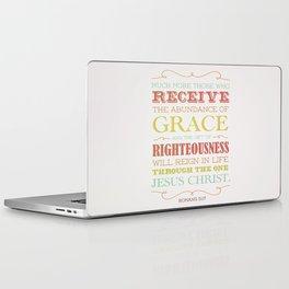 Romans 5:17 Laptop & iPad Skin
