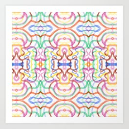 Kaleidoscope I Art Print