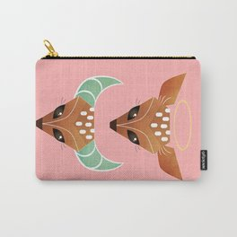Oh, deer. Halo or horns? Carry-All Pouch