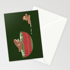 Gingerbread Jaws Stationery Cards