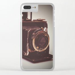 old kodak camera Clear iPhone Case