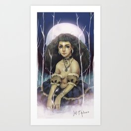 The Wild Queen Art Print