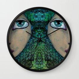 Jade Wall Clock