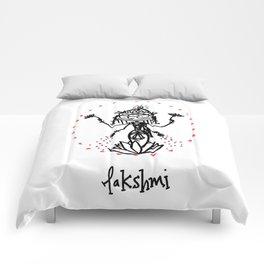 Lakshmi: Goddess of Abundance Comforters