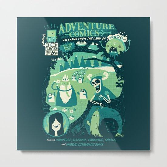 Adventure Comics Metal Print