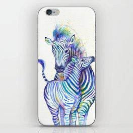 Zippy Zebras iPhone Skin