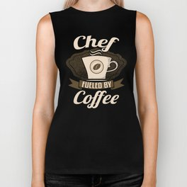 Chef Fueled By Coffee Biker Tank