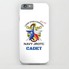 Lone Star Company Cadet iPhone Case