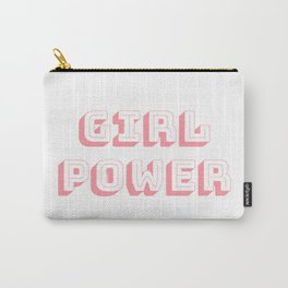 Girl Power Pink Feminism Carry-All Pouch