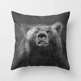 Sacred Bear Throw Pillow