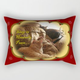Sleep in Heavenly Peace... Rectangular Pillow