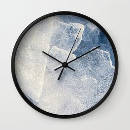 Cold Ice For A Hot Day Wall Clock