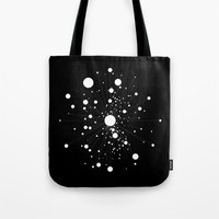 battlestar galactica Tote Bags featuring GALACTICA by THE USUAL DESIGNERS