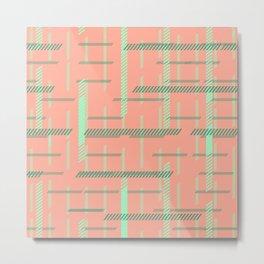 Line check 04_02 Metal Print