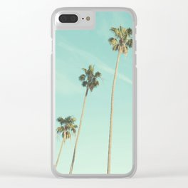 Palm Trees 2 Clear iPhone Case