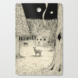 'In The Clearing' Cutting Board