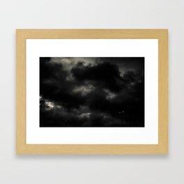 The Darkness Framed Art Print