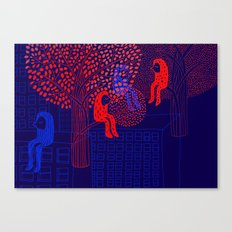 Forrest people Canvas Print