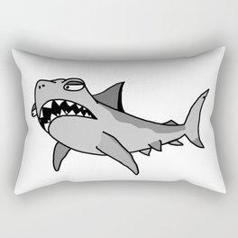 Cartoon Shark Rectangular Pillow