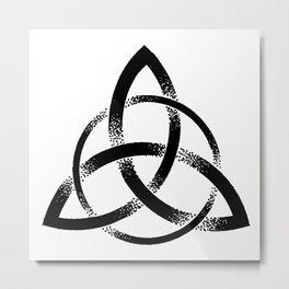 Triquetra Metal Print