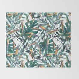 Tropics. Throw Blanket