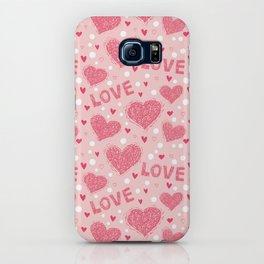 LOVE pattern iPhone Case