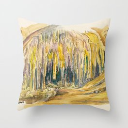 Carlsbad Cavern National Park Throw Pillow
