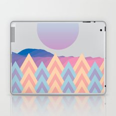 Forest under the moon Laptop & iPad Skin