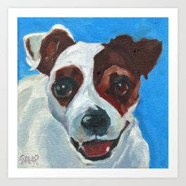 Buster the Pup Art Print
