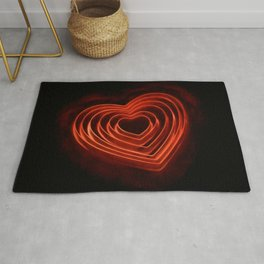 Burning Love Rug