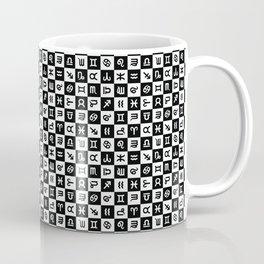 Astrology | Black + White Coffee Mug