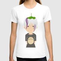 ghibli T-shirts featuring Fan Girl Ghibli by Creo tu mundo