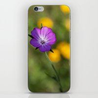 alone iPhone & iPod Skins featuring Alone by David Tinsley