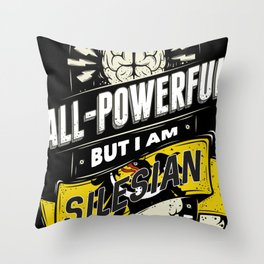 Silesian Pride Region and State Throw Pillow